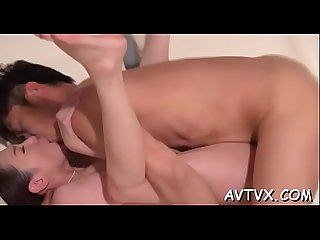 Exploring a juicy and curly oriental cunt