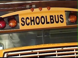 Schoolgirl schoolbus bj tits fuck nasty anal facial cumshot