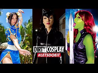 DIRTY COSPLAY - Cumora Wants The D (Honey Gold & Chad White)