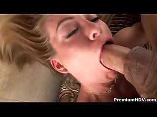 Cu clips aline eats every drop of jizz
