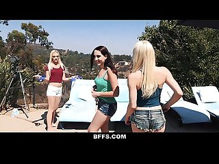 Bffs hot bffs have pool party orgy