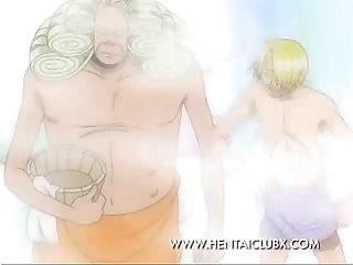 anime Hentai Nami e vivi tomando BANHO bir Parça