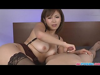 Mai horny as a girl could ever wild cumshots action