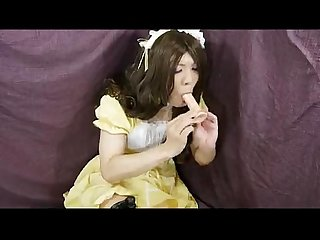 Transvestite masturbate and inserted 2