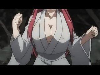 Samurai girls bride fanservice compilation