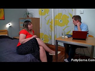 Fat ass bbw seduces her psychologist