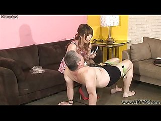 Japanese femdom mayumi asou facesitting