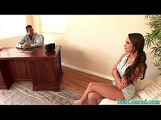 Sexy teal conrad fucks the dean with her step Mom