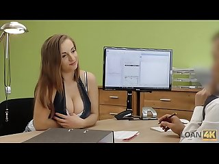 Loan4k hot girl with big boobs looking for a loan
