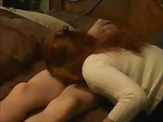 Redhead mom creampied on real Homemade