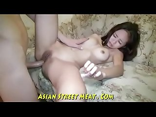 Winking cute asian sex and anal infestlicker