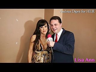 Lisa ann porn meeting with Andrea dipr