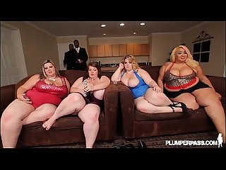 4 Busty BBWS Take on 1 Black Stud at BBW Fan Fest