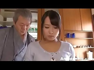 Japanese father fucking her daughter from back like slave amjerking com