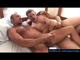 Hot gay guys converting their straight roomates video 11