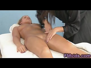 Britney young lesbian massage