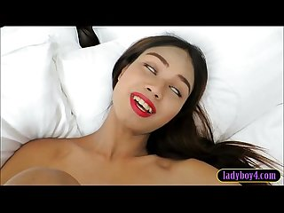 Pretty ladyboy shemale anal Quickie with the photographer