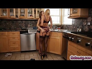 Milf Alexis fawx comes out in lacy lingerie