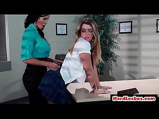 HOT & Mean casting director loves to punish her new try-outs 18