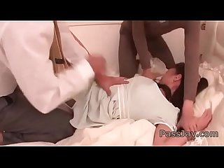 Aoi miyama moans while two hunks are fucking her
