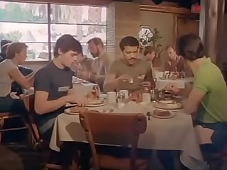 Restaurant handjob
