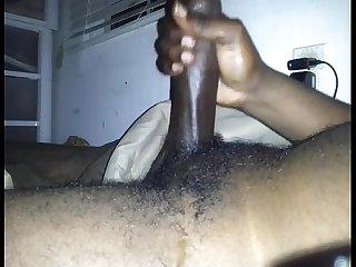 Piroca negra porra branquinha