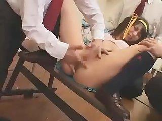 Japanese schoolgirl cosplay gangbang full here: http://zo.ee/6C7I2