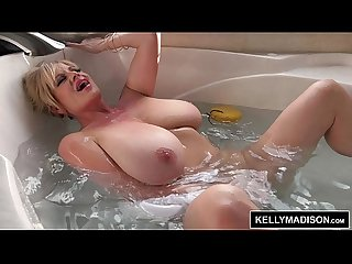 Kelly madison all wet solo bathtub masturbation