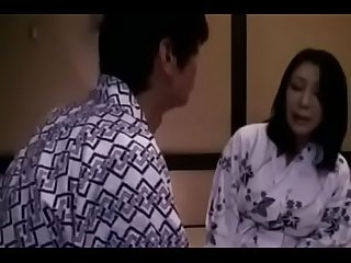 Japanese Asian Mom and Son First Time Sex