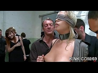 Slave hot girl entertains her husband