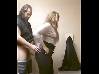 Milf fucking in a public restroom pornrough com