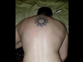 Comendo o barbudo tatuado gostoso