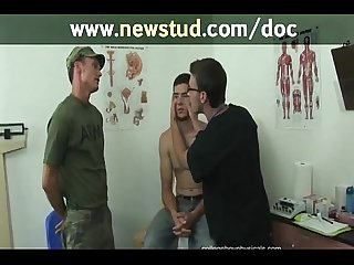 Doctor work over learned youngster physicals