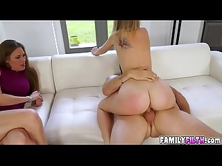 Sweet chick iggy amore getting banged
