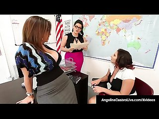 Principal sara jay helps ms period castro punish student