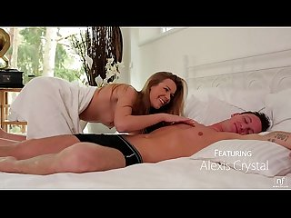 Nubile films wake up to blow and fuck