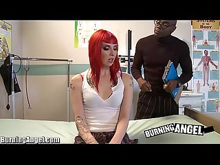 Burning angel big Black cock jungle fever