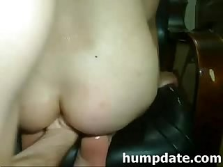 Kinky wife gets her her loose asshole fisted