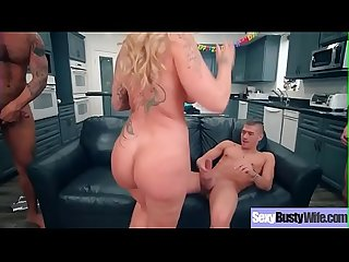 (Ryan Conner) Sexy Cute Busty Housewife In Sex Hardcore Tape vid-22
