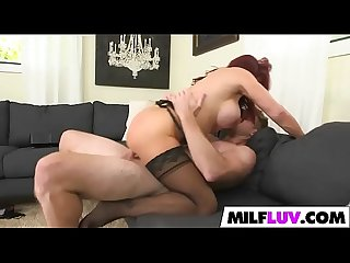 Racked Ginger MILF Vanessa Bella Gets Screwed