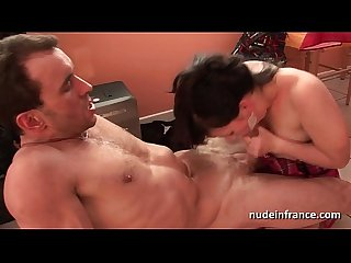 Sexy amateur french student hard anal pounded on the groundfloor