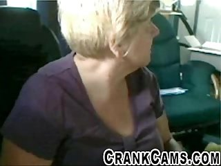 Granny shows her bra at retirement home crankcams com