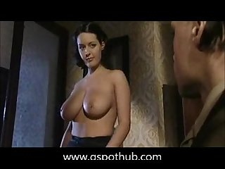 Big boobs army officer threesome more at www gspothub com