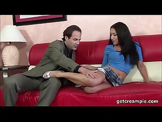 Vicky chase creampie