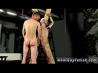 Hot ass gay sex boy The pegs all over his assets add to the delight