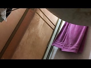 Spy mom in the shower (Full Naked) PART10