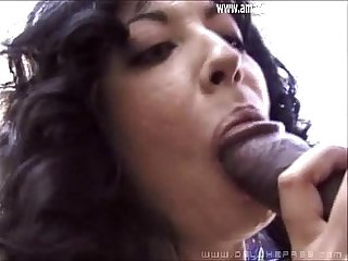 Husband gets her a big black cock to do outside amateurandgroupsex com