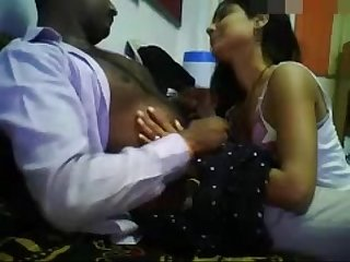Indian girl seducing office boss