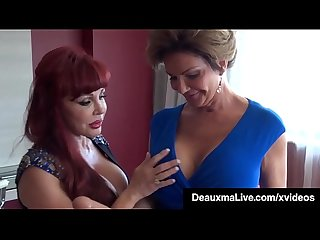 Latina Milf Sexy Vanessa Gets Pussy Fucked By Mature Deauxma