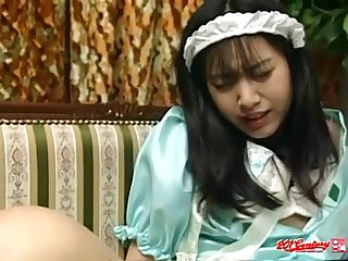 Japanese maid doggystyle lpar uncensored jav rpar